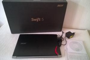 Обновлённый ноутбукAcer  Swift 5 с 15,6-дюймовым экраном весит менее килограмма»