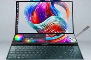 Asus выпустила ноутбук ZenBook Pro Duo с двумя экранами за $2500
