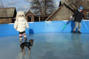 Можно ли надувной бассейн оставлять зимовать?